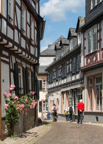 Fachwerkhäuser in der Rosenstraße - Bild Nr. 201306301523