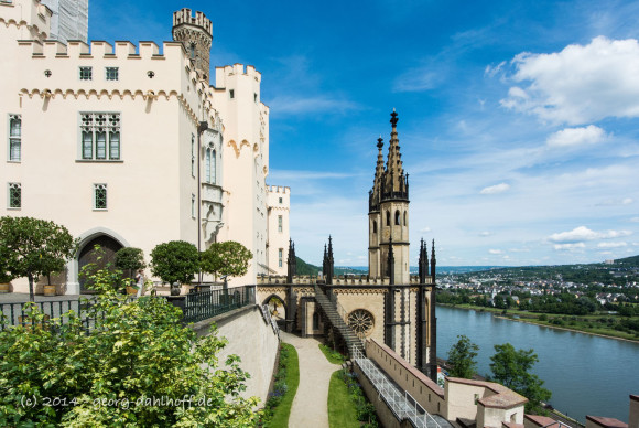 Schloss Stolzenfels am Mittelrhein - Bild Nr. 201405252981