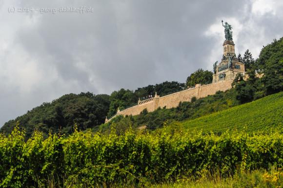 Rüdesheim am Rhein: Das Niederwalddenkmal - Bild Nr. 201408173470