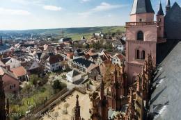 Blick vom Vierungsturm der Katharinenkirche - Bild Nr. 201503284515