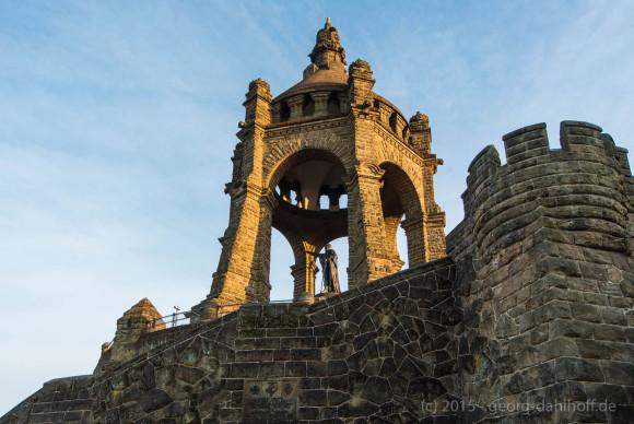 Porta Westfalica: Kaiser-Wilhelm-Denkmal - Bild Nr. 201506124598