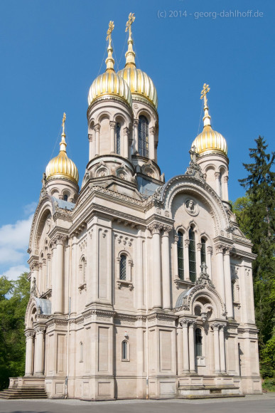 Russisch-Orthodoxe Kirche auf dem Neroberg - Bild Nr.  201404200066