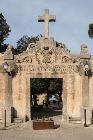 Santuari de Cura: Eingangsportal - Bild Nr. 201603033960